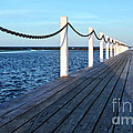 Pier To The Ocean by Kaye Menner