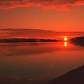 Pierson Lake Sunrise by Clark Haaland