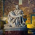 Pieta By Michelangelo Circa 1499 Ad by Jon Berghoff