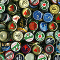 Pile Of Beer Bottle Caps . 2 To 1 Proportion by Wingsdomain Art and Photography