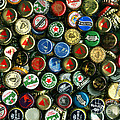 Pile Of Beer Bottle Caps . 8 To 10 Proportion by Wingsdomain Art and Photography