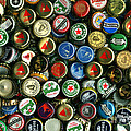Pile Of Beer Bottle Caps . 8 To 12 Proportion by Wingsdomain Art and Photography