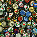 Pile Of Beer Bottle Caps . 9 To 16 Proportion by Wingsdomain Art and Photography