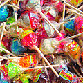 Pile Of Lollipops - Painterly by Wingsdomain Art and Photography