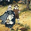 Pilgrim Schoolchildren by Granger