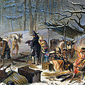 Pilgrims: First Winter, 1620 by Granger
