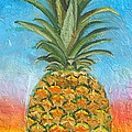 Pineapple Sunrise 2 Or Pinapple Sunset 2 by Anne Cameron Cutri