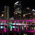 Pink Bridge by David Lee Thompson