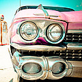Pink Cadillac by David Waldo
