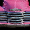 Pink Chevrolet Truck by Dave Mills