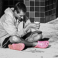 Pink Crocks by Don Durfee