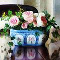 Pink Roses And Ivy by Susan Savad