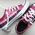 Pink Sneakers by Masha Batkova
