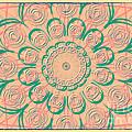 Pink Swirls by Susan  Lipschutz