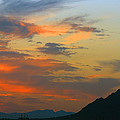 Pinnacle Peak Sunset by Tam Ryan