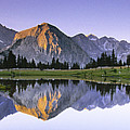 Pioneer Basin Morning Panorama by Buck Forester