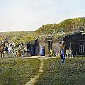 Pioneers Sod House, 1887 by Granger