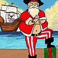 Pirate Santa by William Depaula