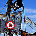 Pirate Ship With Target by Garry Gay