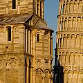Pisa Tower And Cathedral by Mats Silvan