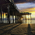 Pismo Beach Pier IIi by Sharon Foster