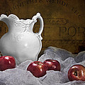Pitcher With Apples Still Life by Tom Mc Nemar