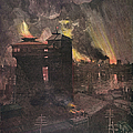 Pittsburgh: Furnaces, 1885 by Granger