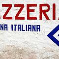 Pizzeria Advertising Sign by Gaspar Avila