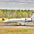 Plane Landing Air Brakes Blur Background by Pictures HDR