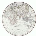Planispheric Map Of The Eastern Hemisphere by Fototeca Storica Nazionale