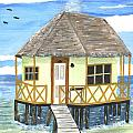 Plank Leads To A Hut by Sea Sons Home and Life