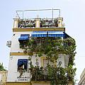 Plant Covered House In Triana Seville by Perry Van Munster