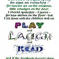 Play Laugh Read by Judy Dodds