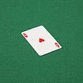 Playing Cards - Ace Of Hearts by Nicholas Eveleigh