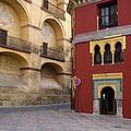 Plaza Del Triunfo In Cordoba by Artur Bogacki