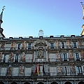 Plaza Mayor Interior Architecture In Madrid Spain by John Shiron