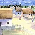 Plimoth Plantation by Joseph Gallant