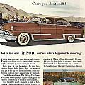 Plymouth De Soto 1953 by Georgia Fowler
