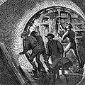 Pneumatic Transit, 1870 by Granger