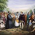 Pocahontas & John Rolfe by Granger