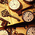 Pocket Watches And Old Keys by Garry Gay