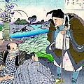 Poet Matsuo Basho 1881 by Padre Art