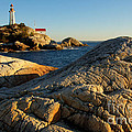 Point Atchison Lighthouse 1 by Bob Christopher
