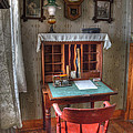 Point Loma Lighthouse Writing Desk by Bob Christopher