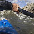 Point Of View White Water Kayaking by Skip Brown