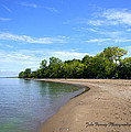 Point Pelee Beach by Jale Fancey