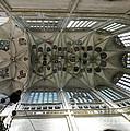 pointed vault of Saint Barbara church by Michal Boubin