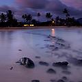 Poipu Evening Storm by Mike  Dawson