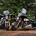Police Motorcycles by Paul Ward