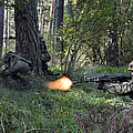 Polish Soldiers Engage In Simulated by Stocktrek Images